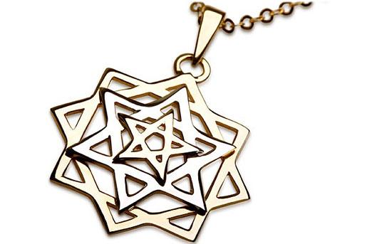 Звезда Давида драгоценности украшения